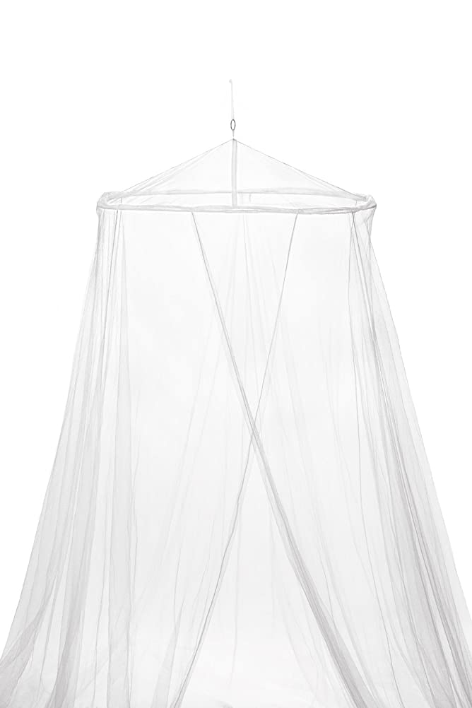 Mosquito Nets 4 UR LARGE Net Bed Canopy Maximum Insect Protection No Skin Irritation Deet Free Natural Repellent Complete Hanging Kit