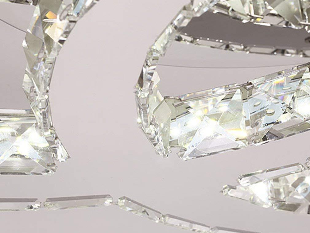Vingo Led Kronleuchter Modern Deckenleuchte Kristall ~ W led deckenleuchte moderne einfache romantische wohnzimmer
