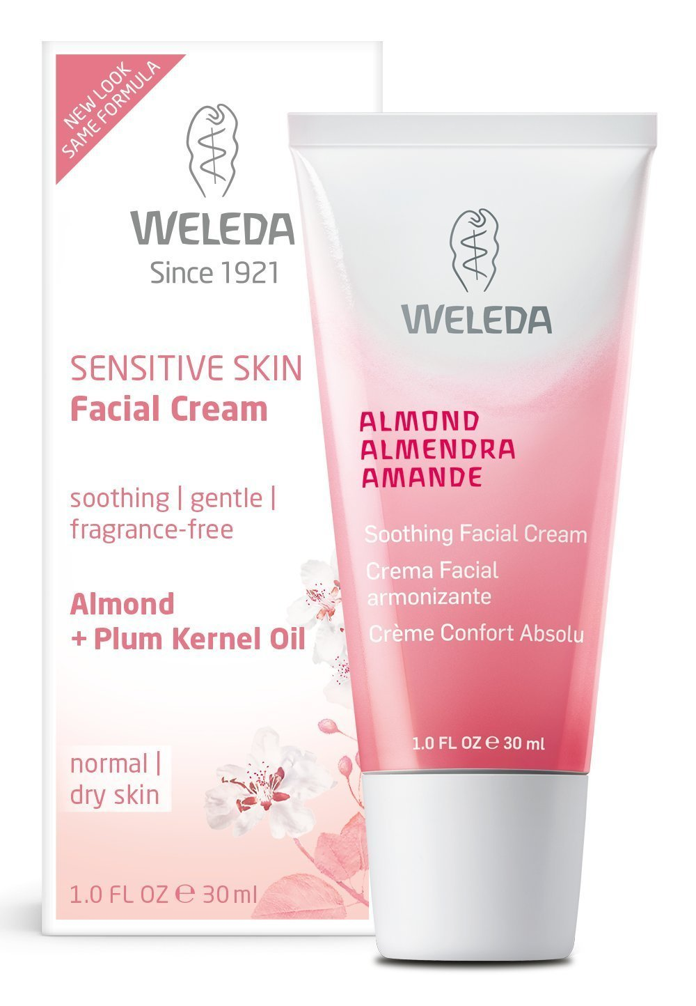 almond soothing facial cream