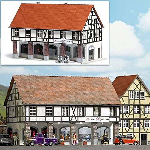 Busch 1539 Old Town Arcade House HO Structure Scale Model Structure
