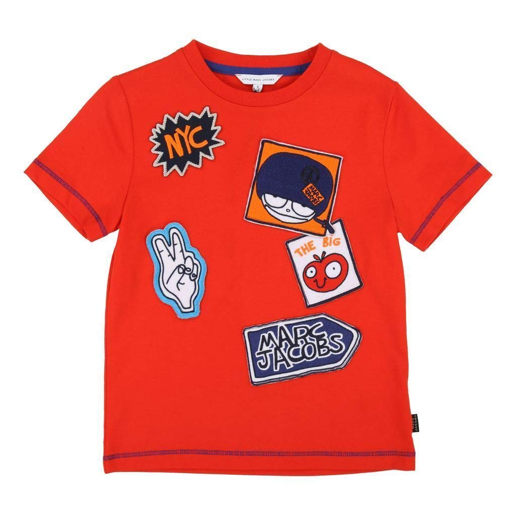 Little Marc Jacobs Bright Red T-Shirt