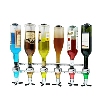topg Ecomoods dispensador de bebidas para pared (para 6 botellas, Bar Butler mesa,