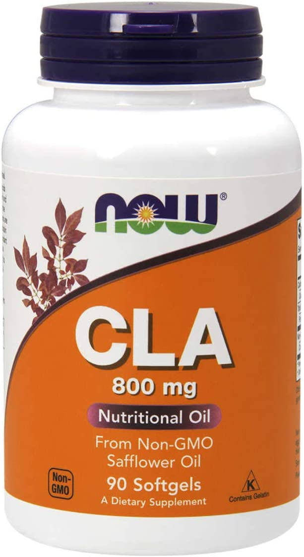 Now Foods CLA Conjugated Linoleic Acid 800 mg – 90 Softgels