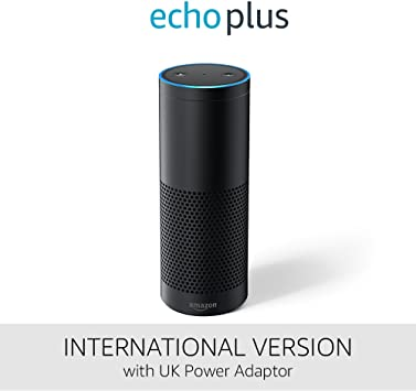 Echo Plus International Version With Built In Smart Home Hub
