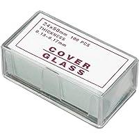 Microscopio cubierta de cristal diapositivas coverslips de 100piezas