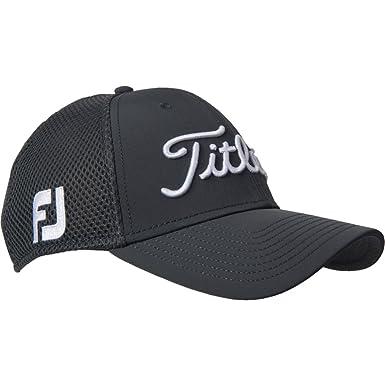 Titleist Golf Sports Mesh Cap with Tour Logos (Small Medium ... 8df0fc528ca