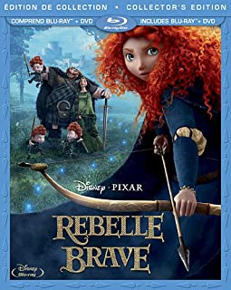 Rebelle: Édition Collector / Brave: Collector's Edition (3-Disc Bilingual Combo Pack) [Blu-ray + DVD] (B00873IQ94) | Amazon price tracker / tracking, Amazon price history charts, Amazon price watches, Amazon price drop alerts