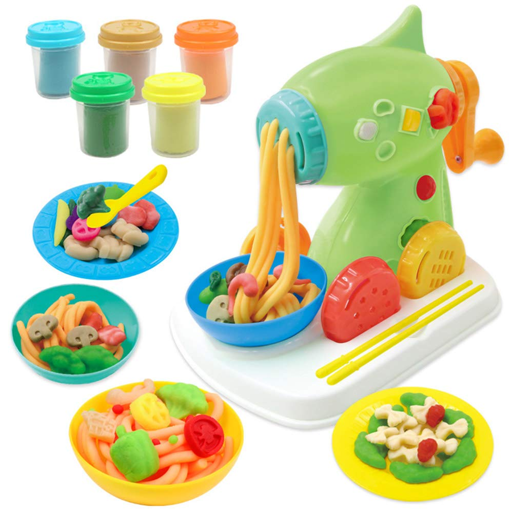 LVYE1 Choi Mud Pasta Machine Plasticine Ultralight And Non-Toxic Clay Clay Toy Plasticine And Tool Set Children's Gift