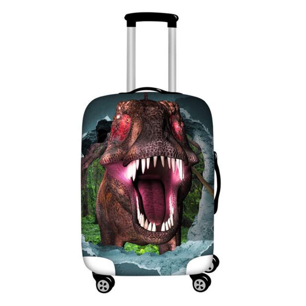 slaldf Housse de Bagage Tyrannosaurus Rex Trolley Case Prot/éger Couverture pour Les Dessins anim/és Gar/çons Cool Voyage Valise Couvercles de Pluie Contre la poussi/ère sappliquent /à 18-30
