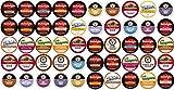 Coffee Variety Sampler Pack for Keurig K-Cup Brewers, 50 Count (Compatible with 2.0 Keurig Brewers)