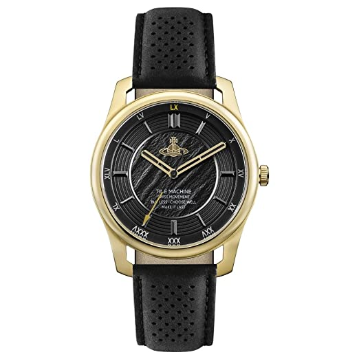 Vivienne Westwood Holborn II Reloj de Quartz oro/negro: Amazon.es: Relojes