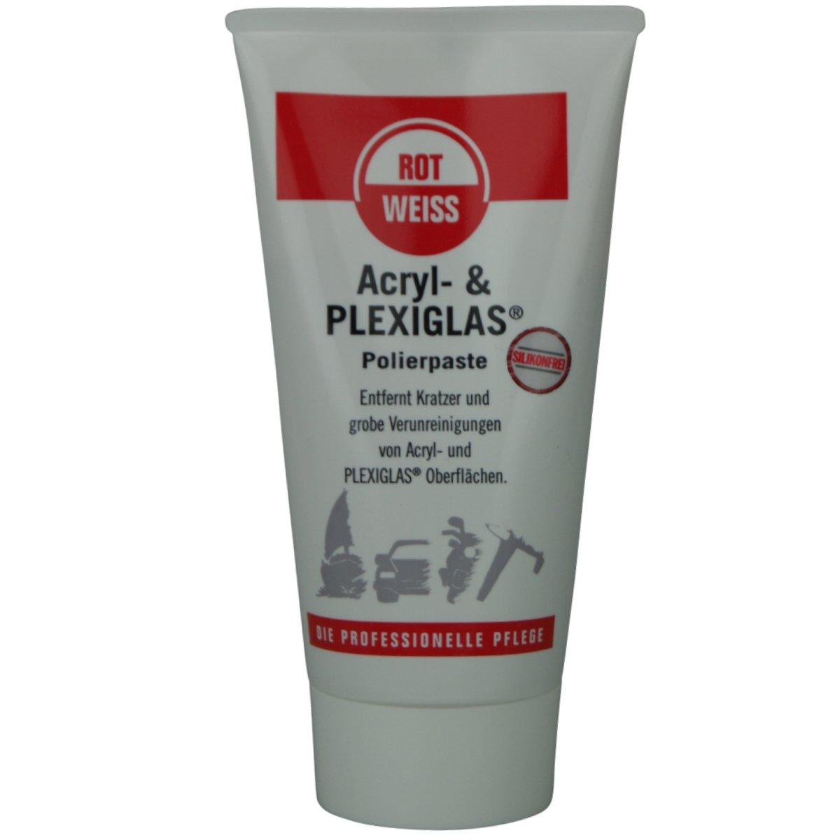 ROTWEISS Acryl & Plexiglas Polierpaste 150 ml