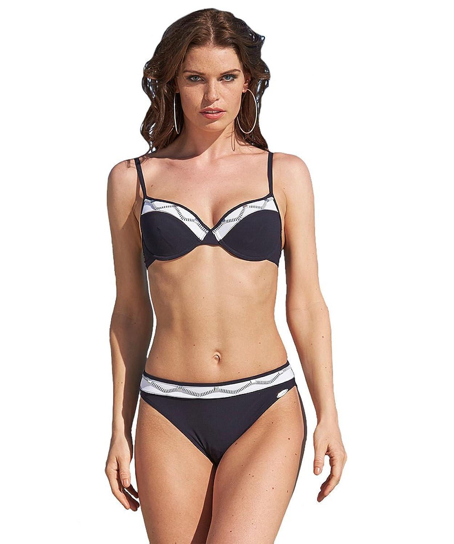 21077 Sunflair Bikini, Formbügel, Softschalen, verstellb. Träger