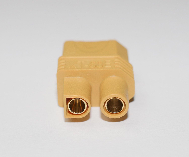 Lipo Akku Premium Adapter von Modellbau Eibl /® w/ählen Sie Ihre Variante XT60 Stecker XT60 Buchse HXT MPX Traxxas JST EC3 T Dean Goldkontaktstecker UVM. 5,5mm Goldkontakt auf T-Dean Buchse