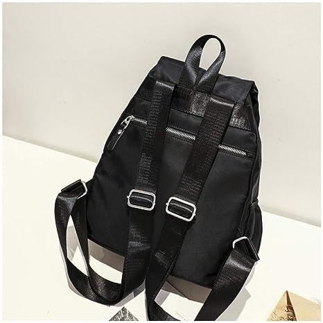7801b5590eff9 CATS Schwarzer Rucksack-Persönlichkeits-Mode-Große Kapazitäts-Oxford-Stoff- Rucksack-Kurzschluss-Reise-Einfache Reise-Tasche