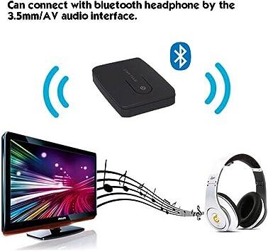 Syllable E3 Emisor transmisor Bluetooth 4,0 para transmitir su MP3 desde ordenador a TV-Auriculares de diadema y auriculares in-ear Bluetooth: Amazon.es: Electrónica