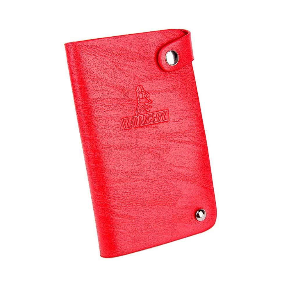 GEEAD Men Credit Card Holder Slots Purse RFID Blocking Slim Wallet Women Travel MW07365BK05