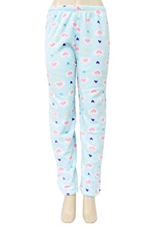 98b4e643cd4d Super-Soft   Cute Plush Pajama Pants at Amazon Women s Clothing store
