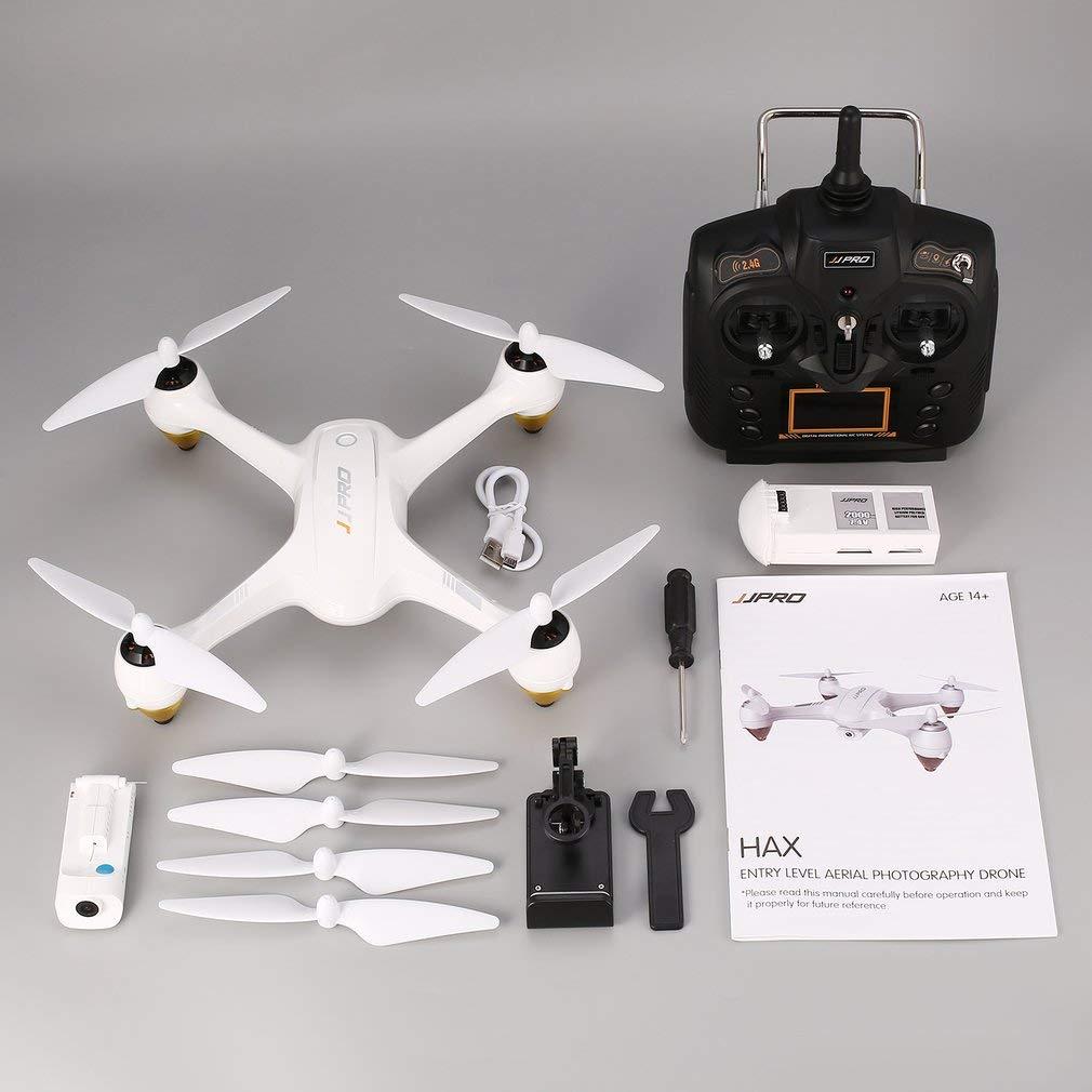 FDBF Drone Brushless RC Drone FPV Drone di JJPRO X3 HAX 2.4G Dual GPS 1080P HD WiFi