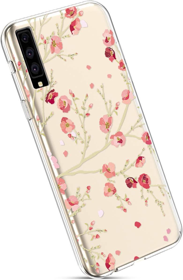 Compatible con Fundas Samsung Galaxy A7 2018 A750 Estuches,Patrón ...