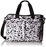 LeSportsac Women's Ryan Baby Diaper Bag Carry on, Mickey Loves Minnie