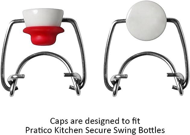 3 bouchons swing en céramique de remplacement pour bouteilles