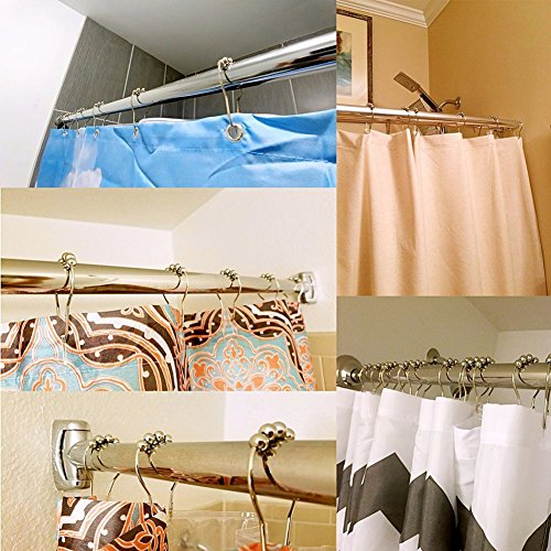 VROSELV 5-piece Bathroom Set-Includes Shower Curtain Liner, Yoga Dog Sitting Relaxed with Closed Eyes Meditation Print Bathroom Rugs Shower Curtain/Bath Towls Sets(Large size) free shipping