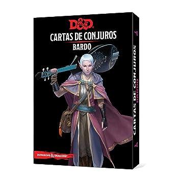 Dungeons & Dragons- Bardo-Cartas de Conjuros-Castellano, Color (Edge Entrertainment EEWCDD81)