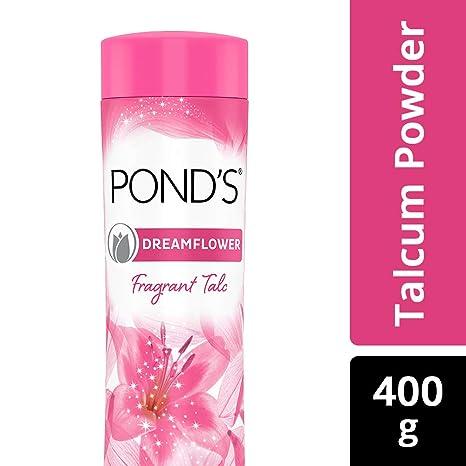 a9dc20cfaa9e0d POND'S Dreamflower Fragrant Talcum Powder, Pink Lily, 400 g: Amazon.in:  Beauty