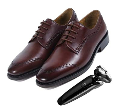 zmlsc Spitz Business England Derby Schuhe Für Herren Braun