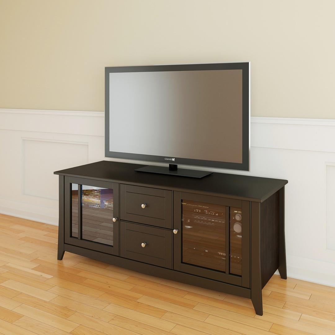 Elegance 58-inch TV Stand 200117 from Nexera, Espresso