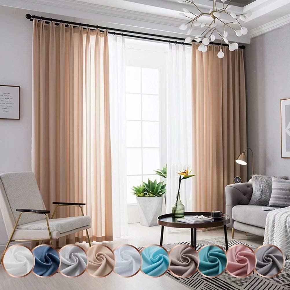 Leadtimes It is very popular Outdoor Sheer Curtains Super special price Drapes Room Filtering D Light