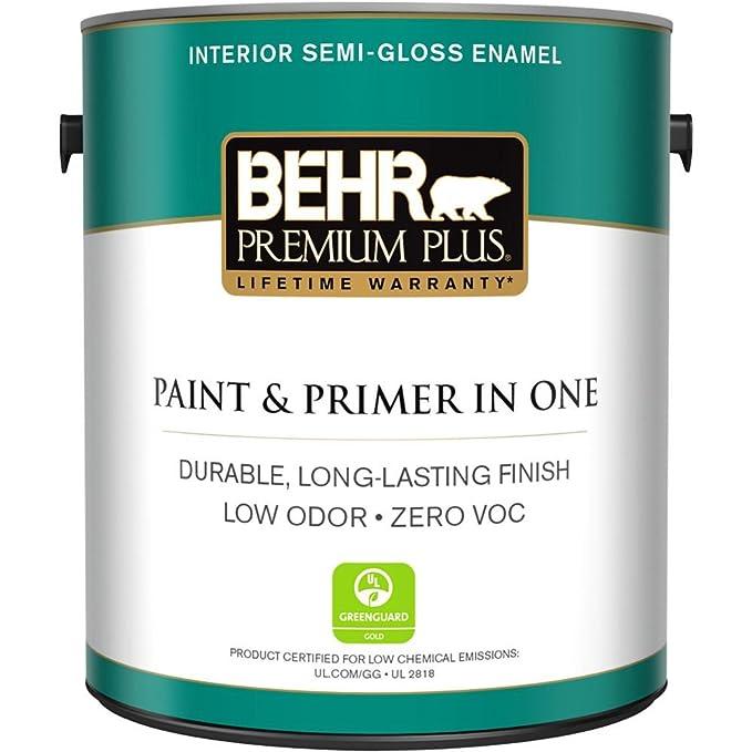 BEHR Premium Plus 1 Gal. Pintura y imprimación interior ultra pura ...