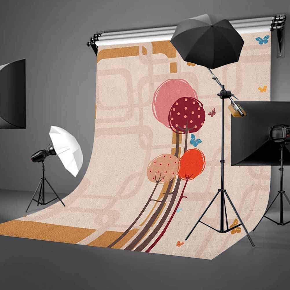 7x10 FT Grunge Vinyl Photography Background Backdrops,Contemporary Art Inspiration with Dots in Cold Colors Freezing Cool Winter Ice Background for Selfie Birthday Party Pictures Photo Booth Shoot