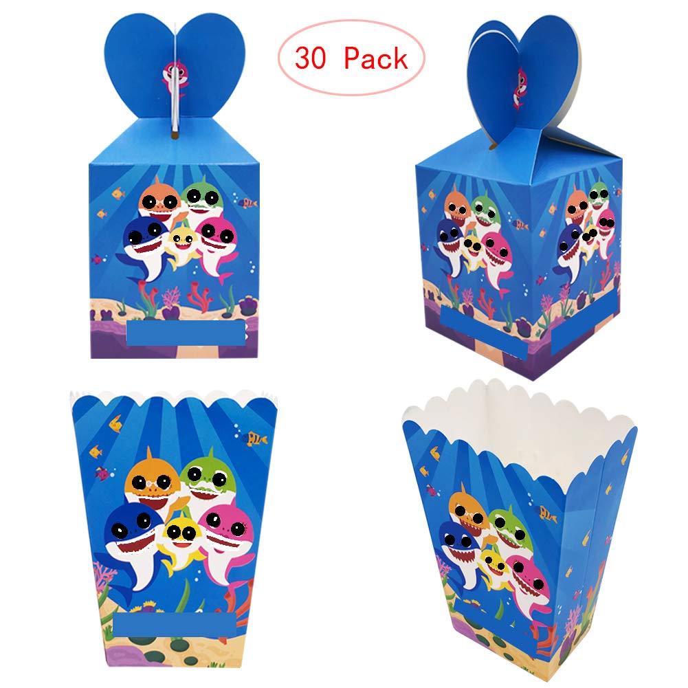 Amazon.com: 18 cajas de palomitas de maíz de tiburón para ...