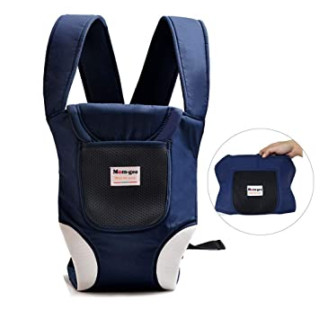 Classic Baby Carrier Front Strap Kangaroo Baby Holder Black Adjustable Washable