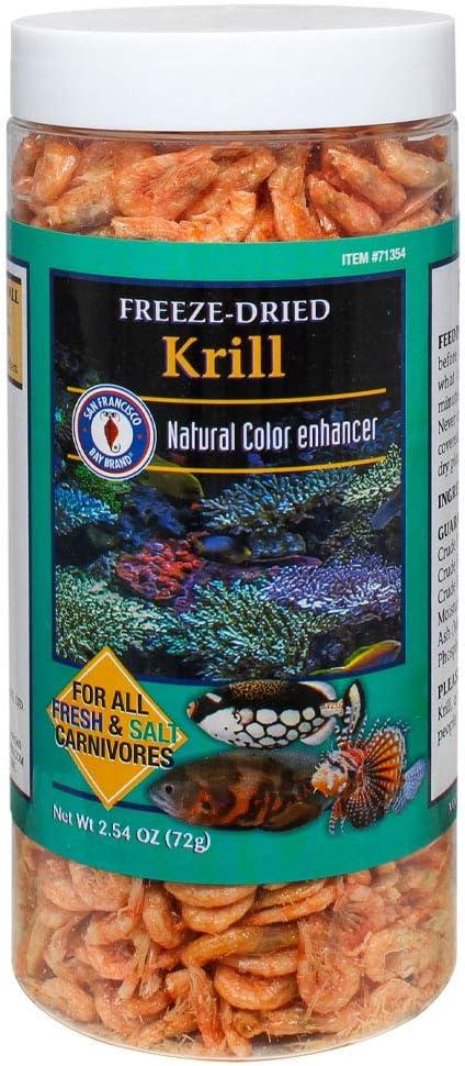 San Francisco Bay Brand Freeze-Dried Krill 2.54-Ounces (72 Grams) Jar