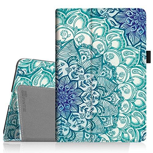 Fintie iPad Mini 4 Case - Premium Vegan Leather Folio Case Smart Stand Protective Cover with Auto Sleep/Wake Feature for Apple iPad Mini 4 Released on 2015, Emerald Illusions