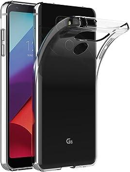 AICEK Funda LG G6, Transparente Silicona Fundas para LG G6 Carcasa ...