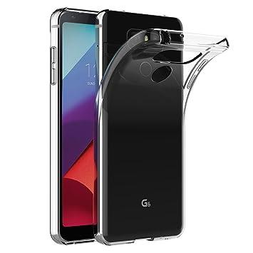 AICEK Funda LG G6, Transparente Silicona Fundas para LG G6 Carcasa (5,7 Pulgadas) Silicona Funda Case