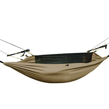 free soldier outdoor tactical hammock survival multi function portable hanging bed with mosquito   lightweight amazon    free soldier lightweight hammock backpacking hammock      rh   amazon
