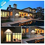 Solar Lights Outdoor Solar Motion Sensor LED