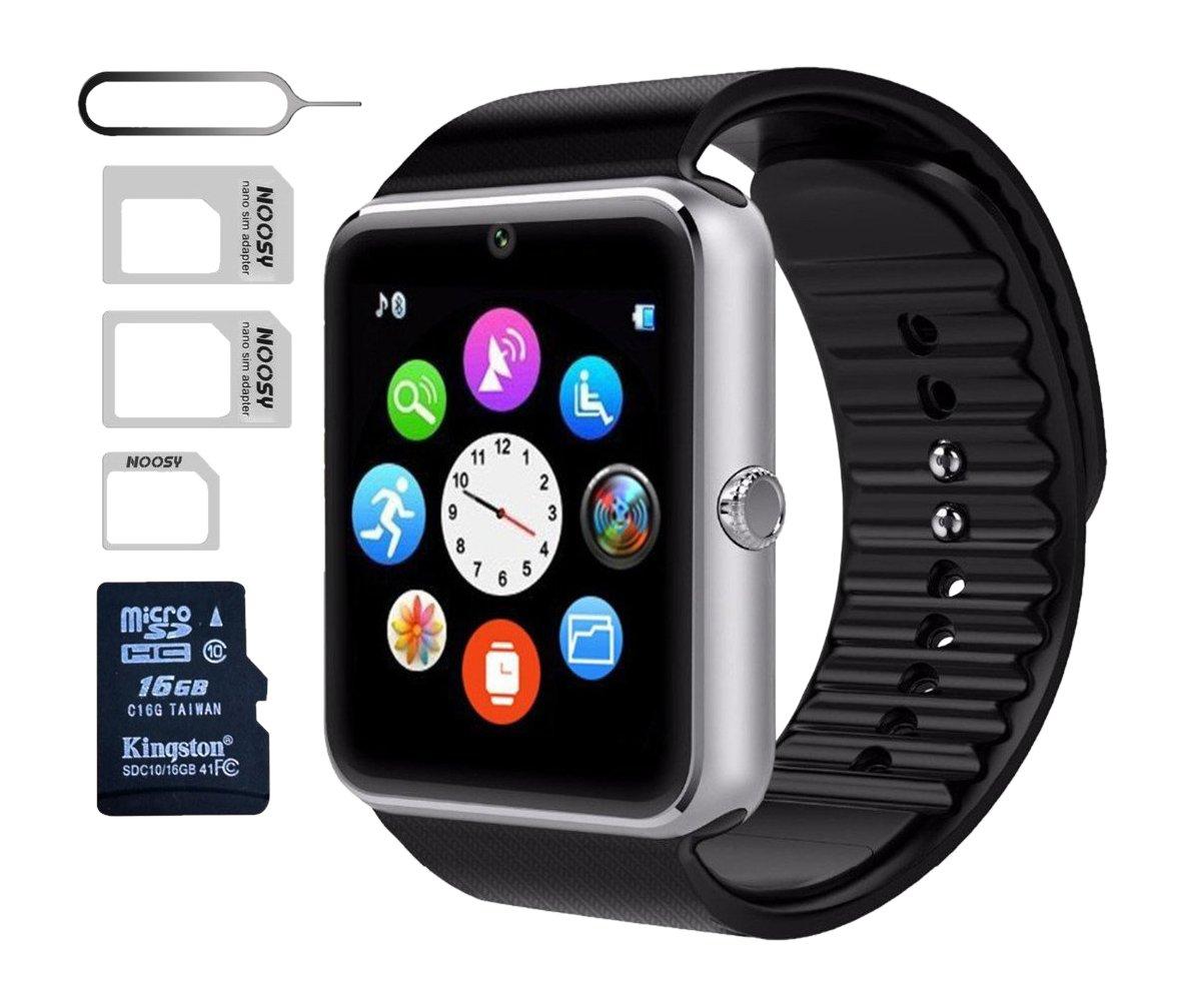 Amazon.com: Smart Watch gt08, Negro