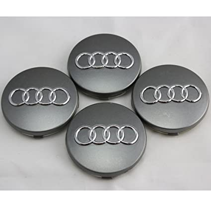 Amazoncom AUDI A A TT A A A RS RS WHEEL CENTER CAP HUBCAP - Audi wheel center caps