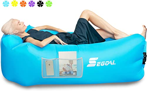 Portable Air Couch for Indoor/Outdoor, Camping, Traveling, Picnic [Segoal] Picture