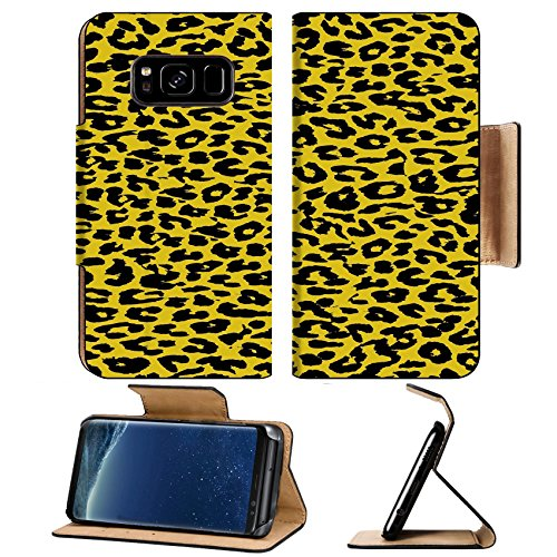 Liili Premium Samsung Galaxy S8 Plus Aluminum Snap Case Animal print fur skin of leopard IMAGE ID - And Ski Sun Reviews