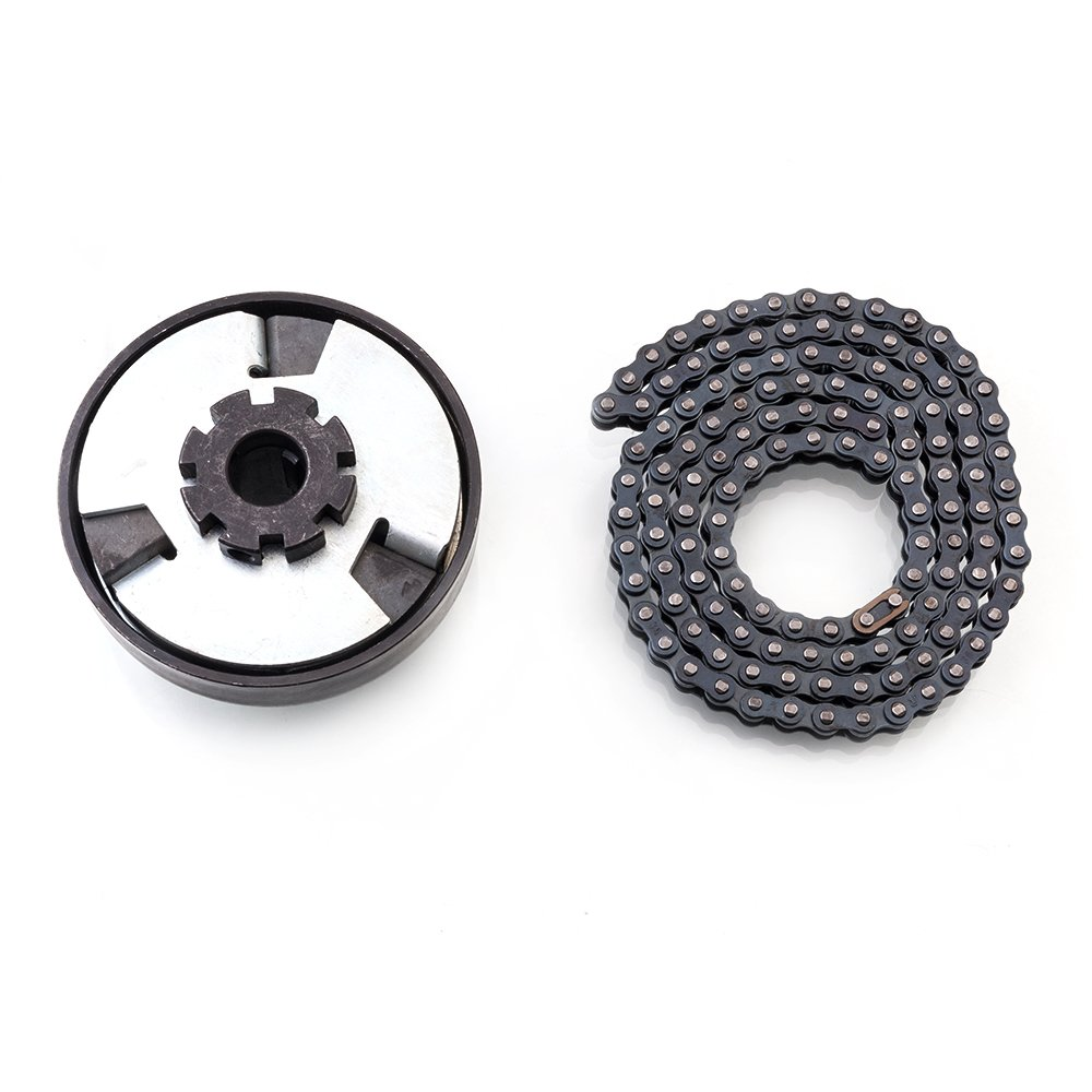 Centrifugal Clutch 3/4'' Bore 12T #35 Chain for Go Kart Mini Bike Lawnmower 3/4 Bar