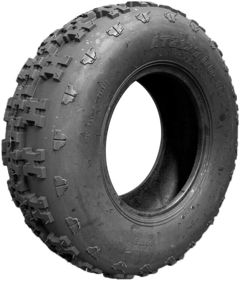 "6 ply 21x7-10 SPORT ATV TIRES Front 2 Tire Set Honda TRX 300EX 21-7-10 21/"""