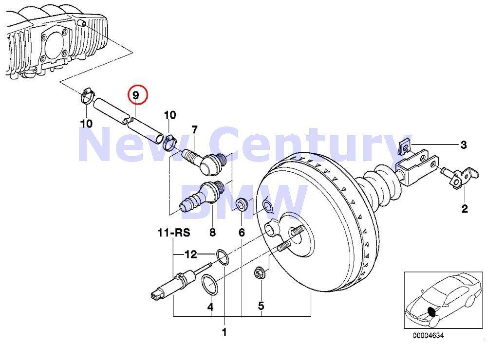 Amazon Bmw Genuine Power Brake Unit Depression Hose Elbow 318i Rhamazon: All 95 318i Engine Diagram Hose At Gmaili.net