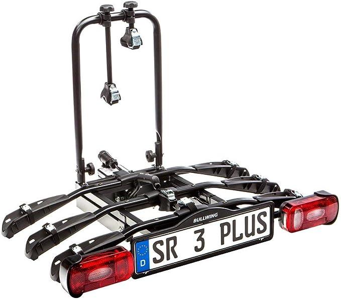 Bullwing Sr3 Fahrradträger Für 3 Fahrräder Auf Die Auto Anhängerkupplung Abklappbar Spezialverschluss Diebstahlschutz 3x Rahmenhalter Wandhalter Spanngurt Inklusive Auto